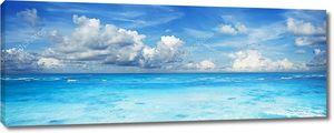 Океан, панорамная композиция