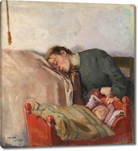 Кристиан Крог. Мать и дитя