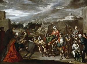Антонио дель Кастильо. Триумф Иосифа в Египте
