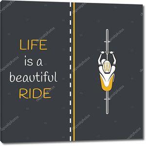 Мотозапчасти на дороге. Жизнь это Красивейшая езда