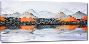 Оранжевые холмы