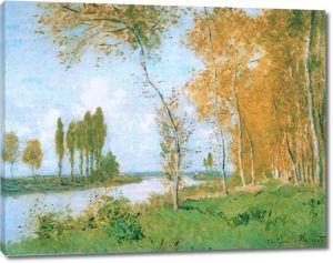 Моне Клод. Весной в Аржантее, 1872