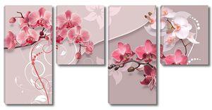 Орхидеи и узоры