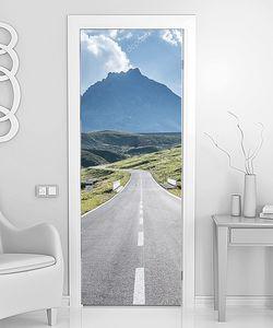 Дорога ведущая к горам