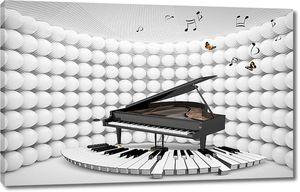3D рояль