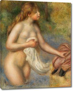 Пьер Огюст Ренуар. Купальщица, 1895