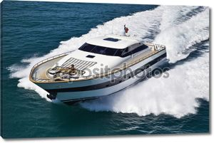 Италия, Тирренское море, Текномар 26 роскошные яхты, вид сверху