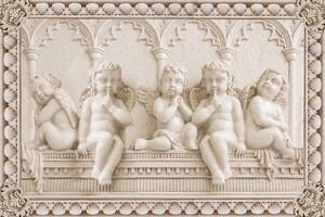 Барельеф с ангелочками