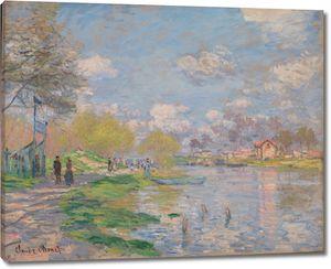 Клод Моне. Весна на Сене
