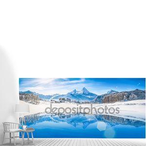 Панорманый вид на Альпы