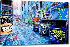 Граффити в Мельбурне