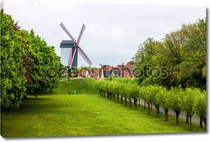 Ветряная мельница в Брюгге