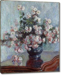 Моне Клод. Хризантемы, 1882