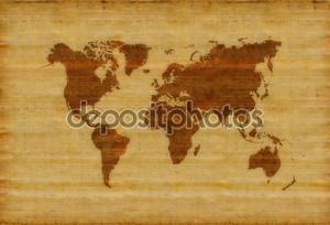 Карта старых времен