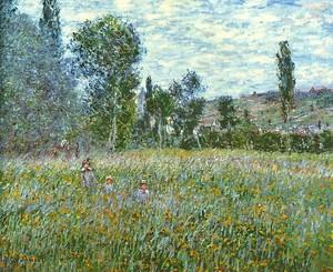 Моне Клод. Луг, 1880