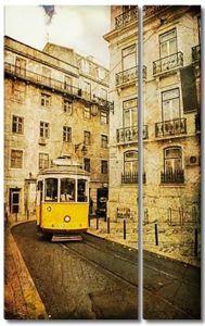 Винтаж Фото Лиссабона