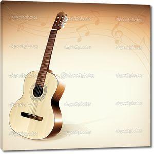 фон гитары