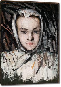 Поль Сезанн. Портрет сестры художника Мария Сезанн