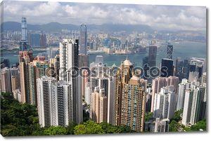 гонконгские небоскребы