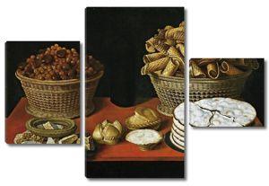 Томас Йепес. Сладости и орехи на столе
