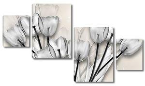 Прозрачные тюльпаны