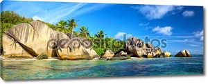 Anse Source d'Argent panorama