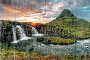 Исландия холмы