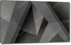 Полигональный узор из бетонных конструкций