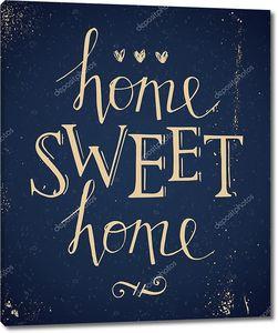 Sweet Home рука надпись