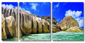 Уникальные скалистые пляжи Сейшельских островов