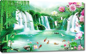 Райское место в горах
