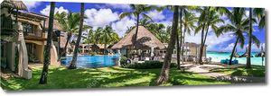 Пальмы на острове Маврикий