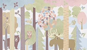 Аппликационный лес