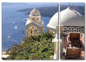 Купола церковь в Греции