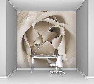 Бутон розы полуоткрытый