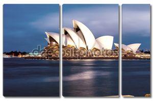 Сидней - 12 октября 2015: Сиднейский оперный театр. Это был дизайн