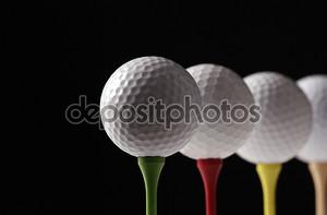 Мячи для гольфа и гольф Тис