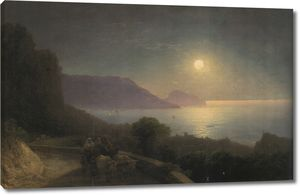 Айвазовский. Вид на Крым в лунную ночь