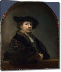 Рембрандт. Автопортрет в возрасте 34 лет