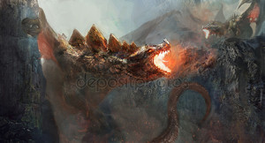 борьба дракона