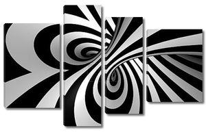Абстрактный спиральный фон