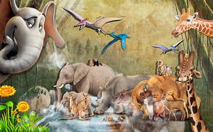 Доисторический животный мир