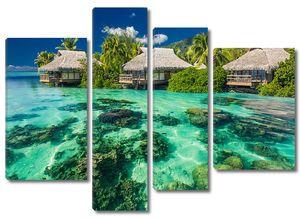 Пейзаж курорта tropical