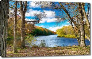 Осень на тихой реке