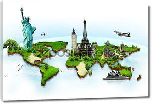 путешествуйте по миру понятие памятников