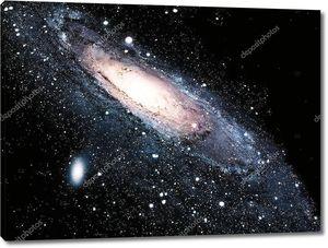 Графическое изображение галактики во Вселенной