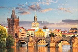 Прага - Карлов мост, Чехия