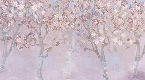 Деревья в розовом цвете