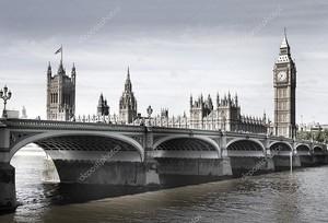 Лондон,  мост на реке Темзе