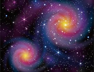 Две спирали галактик